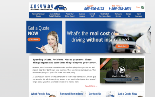 Access easywayinsurance.ca using Hola Unblocker web proxy