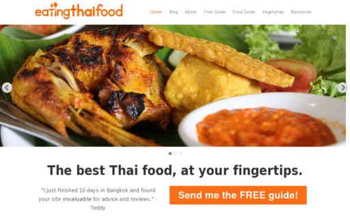 Access eatingthaifood.com using Hola Unblocker web proxy