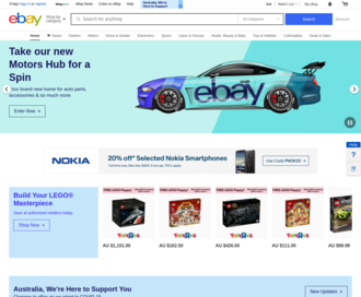 Access ebay.com.au using Hola Unblocker web proxy