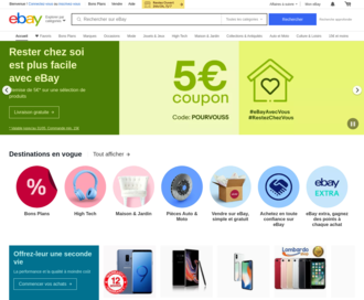 Access ebay.fr using Hola Unblocker web proxy