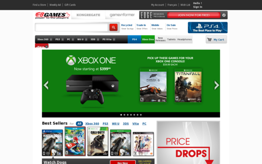 Access ebgames.ca using Hola Unblocker web proxy