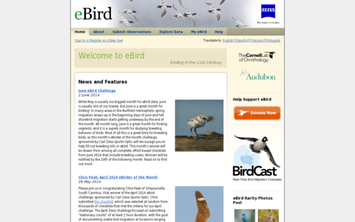 Access ebird.org using Hola Unblocker web proxy
