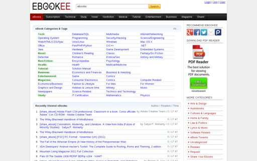 Access ebookee.org using Hola Unblocker web proxy