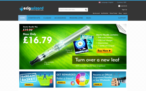 Access ecigwizard.com using Hola Unblocker web proxy