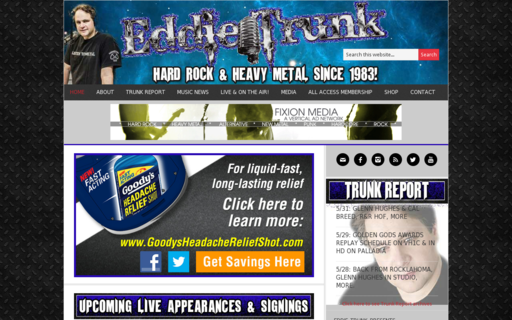 Access eddietrunk.com using Hola Unblocker web proxy
