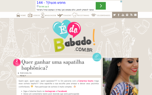 Access edobabado.com.br using Hola Unblocker web proxy