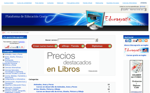 Access educagratis.org using Hola Unblocker web proxy