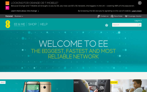 Access ee.co.uk using Hola Unblocker web proxy