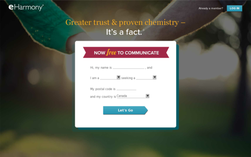Access eharmony.ca using Hola Unblocker web proxy