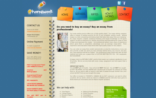 Access ehomework.ca using Hola Unblocker web proxy
