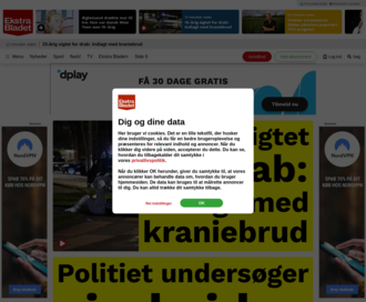 Access ekstrabladet.dk using Hola Unblocker web proxy