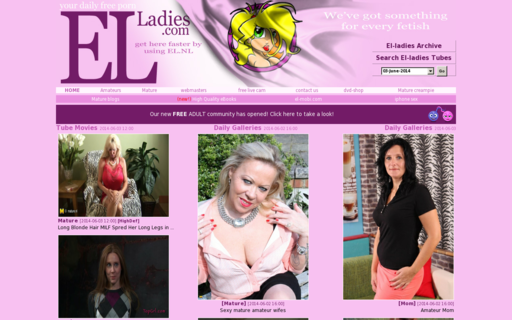 Access el-ladies.com using Hola Unblocker web proxy