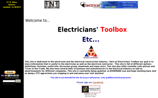 Access elec-toolbox.com using Hola Unblocker web proxy