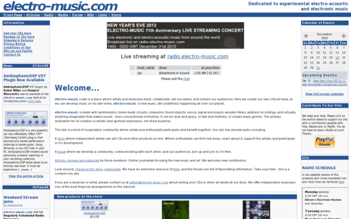 Access electro-music.com using Hola Unblocker web proxy