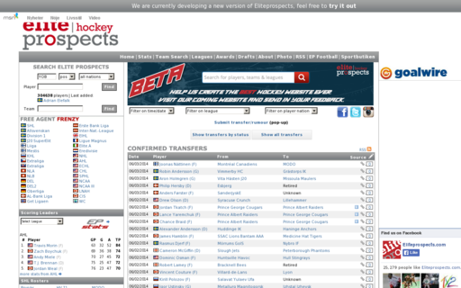 Access eliteprospects.com using Hola Unblocker web proxy