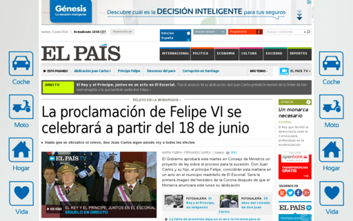 Access elpais.es using Hola Unblocker web proxy