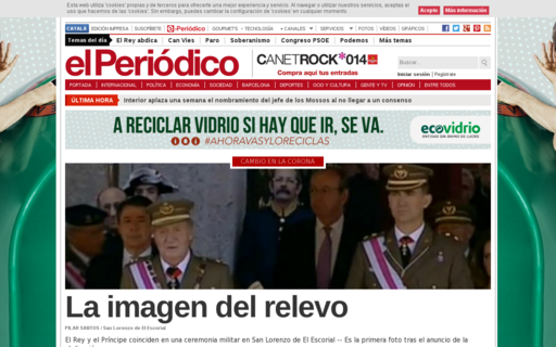 Access elperiodico.com using Hola Unblocker web proxy