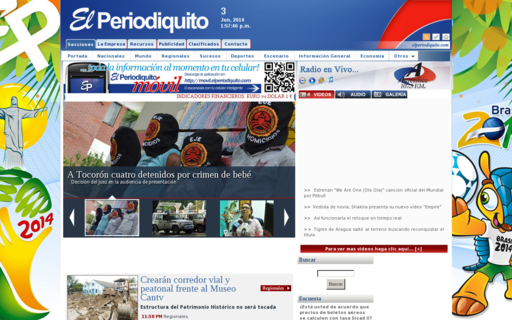 Access elperiodiquito.com using Hola Unblocker web proxy