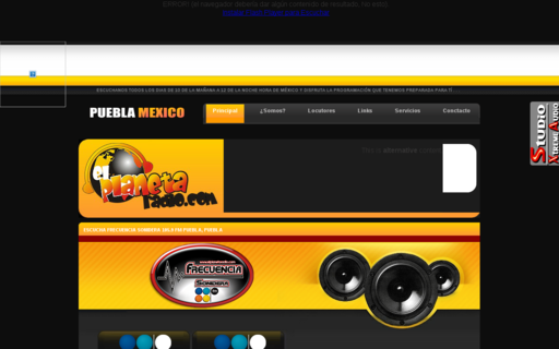 Access elplanetaradio.com using Hola Unblocker web proxy