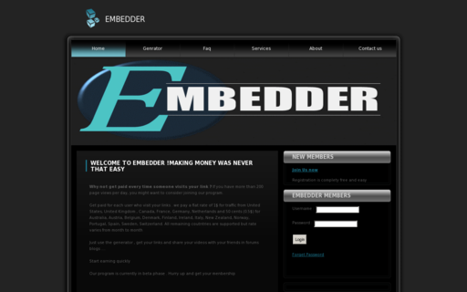 Access embedder.eu using Hola Unblocker web proxy