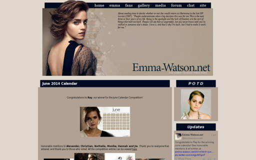 Access emma-watson.net using Hola Unblocker web proxy
