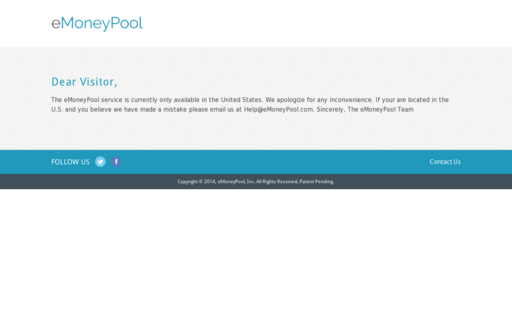 Access emoneypool.com using Hola Unblocker web proxy