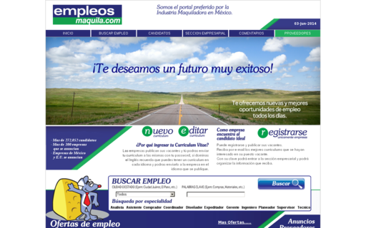 Access empleosmaquila.com using Hola Unblocker web proxy