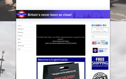 Access englishfood.be using Hola Unblocker web proxy