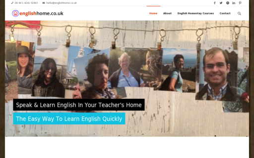 Access englishhome.co.uk using Hola Unblocker web proxy