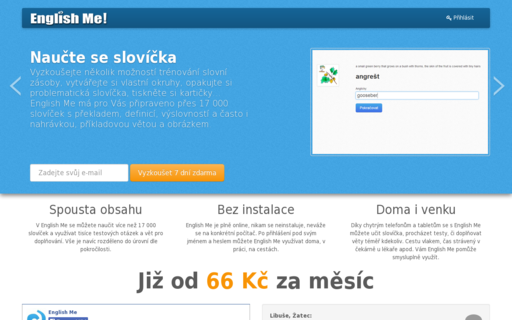 Access englishme.cz using Hola Unblocker web proxy