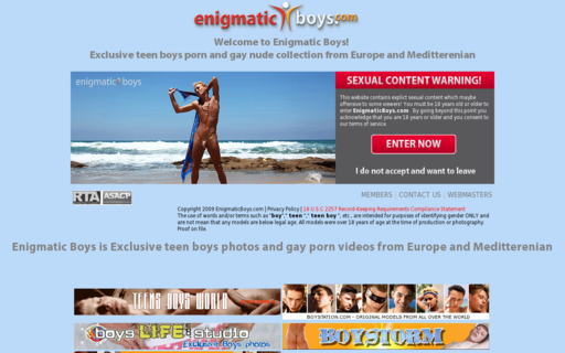 Access enigmaticboys.com using Hola Unblocker web proxy