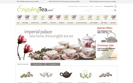 Access enjoyingtea.com using Hola Unblocker web proxy