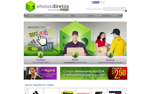 Access enviosdiretos.com using Hola Unblocker web proxy