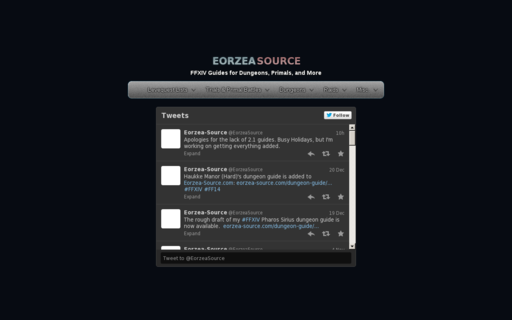 Access eorzea-source.com using Hola Unblocker web proxy