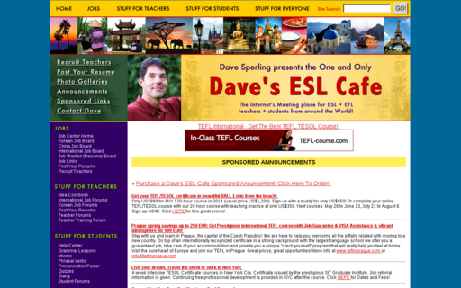 Access eslcafe.com using Hola Unblocker web proxy
