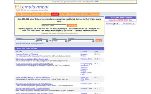 Access eslemployment.com using Hola Unblocker web proxy