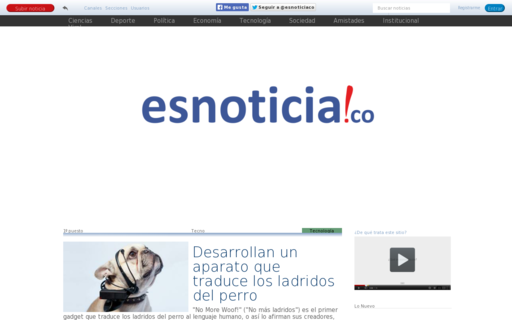 Access esnoticia.co using Hola Unblocker web proxy