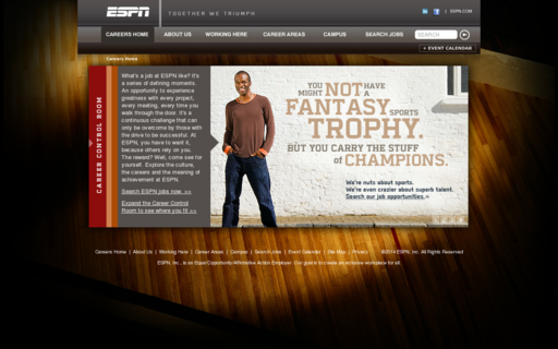 Access espncareers.com using Hola Unblocker web proxy