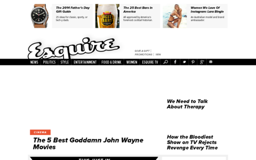 Access esquire.com using Hola Unblocker web proxy