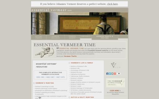 Access essentialvermeer.com using Hola Unblocker web proxy