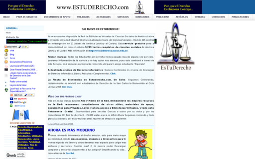 Access estuderecho.com using Hola Unblocker web proxy
