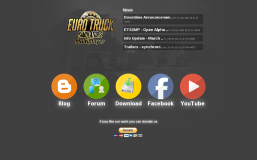 Access ets2mp.com using Hola Unblocker web proxy