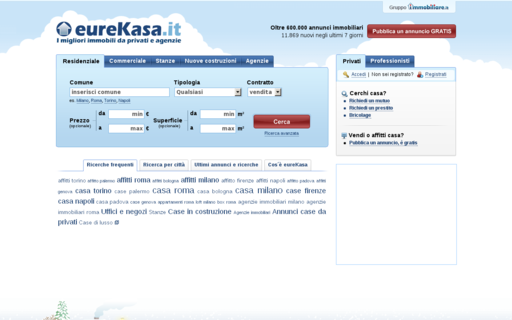 Access eurekasa.it using Hola Unblocker web proxy
