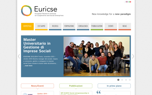 Access euricse.eu using Hola Unblocker web proxy