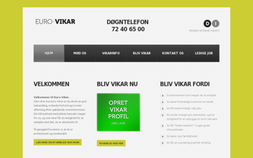 Access euro-vikar.dk using Hola Unblocker web proxy