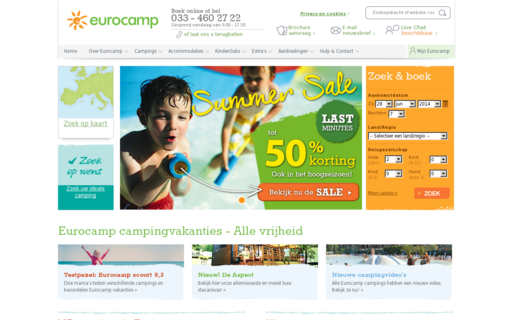 Access eurocamp.nl using Hola Unblocker web proxy