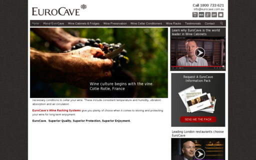 Access eurocave.com.au using Hola Unblocker web proxy