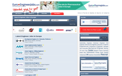Access euroengineerjobs.com using Hola Unblocker web proxy