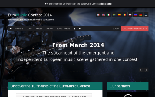 Access euromusiccontest.com using Hola Unblocker web proxy