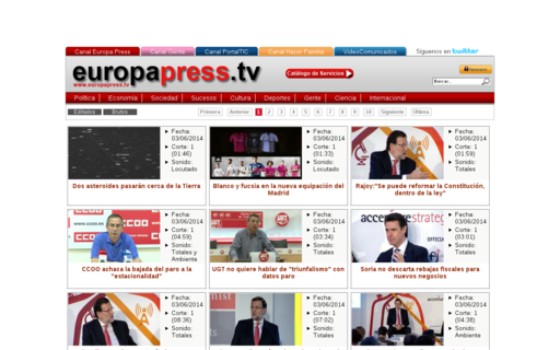Access europapress.tv using Hola Unblocker web proxy